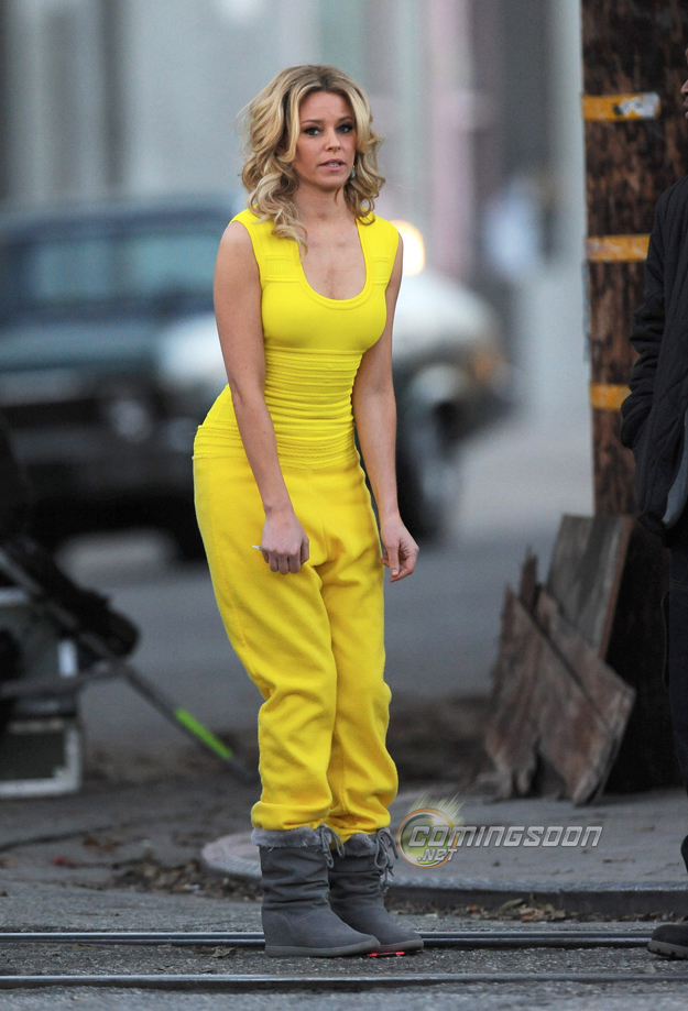 Elizabeth Banks filming new movie 'Walk Of Shame'