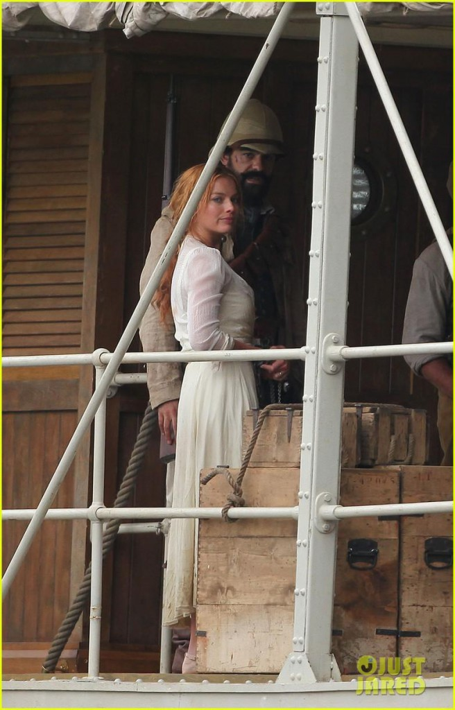Margot Robbie as Jane in Tarzan