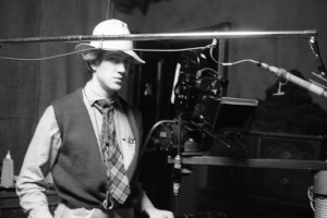 David Lynch on the set of Eraserhead. Photo by Catherine Coulson, courtesy of David Lynch.