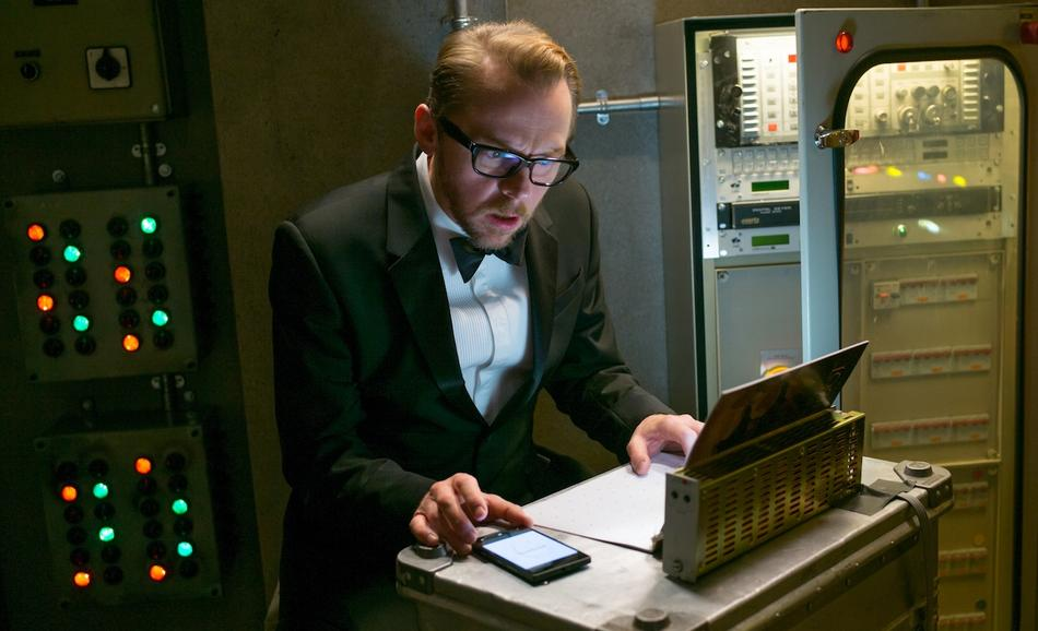 Simon Pegg plays Benji in Mission: Impossible - Rogue Nation from Paramount Pictures and Skydance Productions