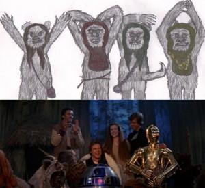2015-10-24-SW-George-Lucas-portré-3-1983-ewoks-final-scene