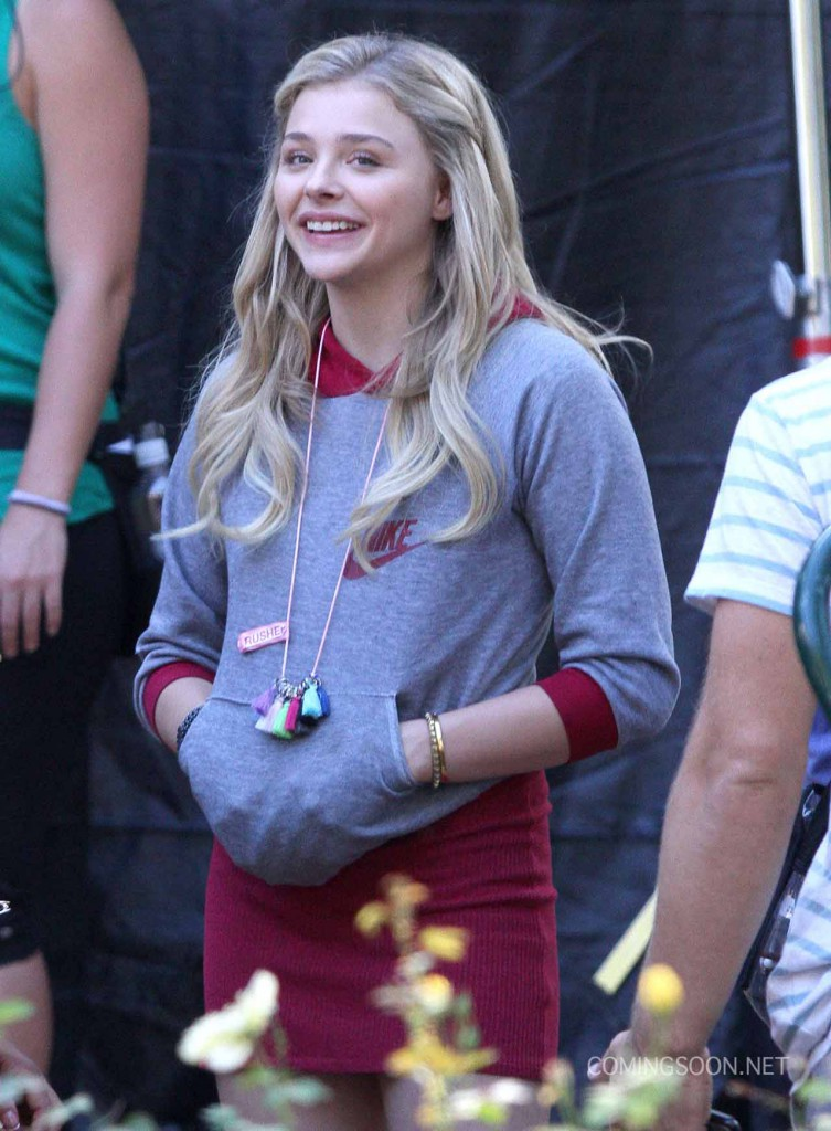 Chloe Grace Moretz On The Set Of 'Neighbors 2'