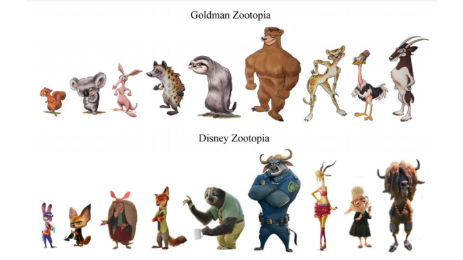 zootopiahasonlóság