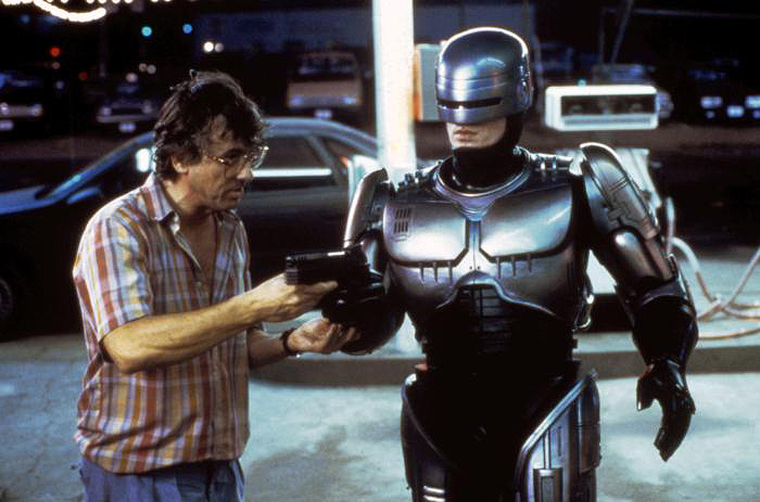 ROBOCOP, Director Paul Verhoeven, Peter Weller, 1987 © Orion Pictures/