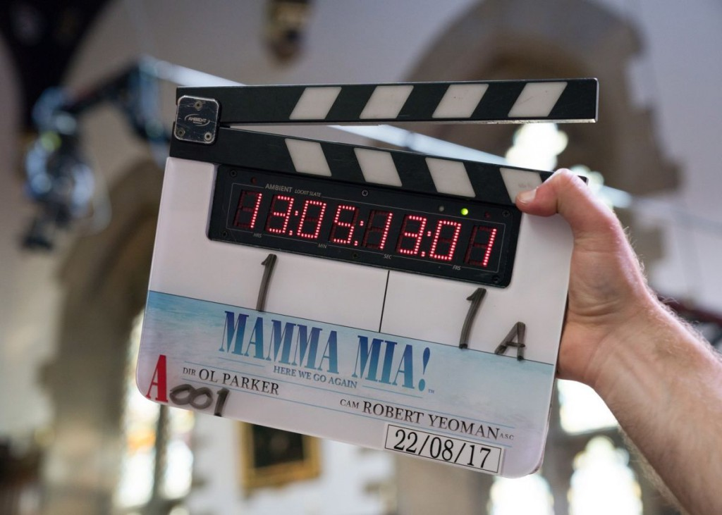 Mamma Mia! Here We Go Again starts principal photography (PRNewsfoto/Universal Pictures)